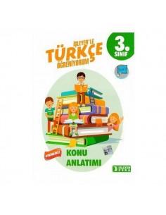 İşleyen Zeka Yayınları 3. Sınıf Türkçe Etkinlikli Öğreniyorum Konu Anlatımlı