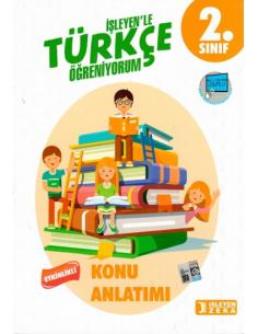 İşleyen Zeka Yayınları 2. Sınıf Türkçe Etkinlikli Öğreniyorum Konu Anlatımlı