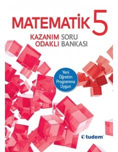 Tudem Yayınları 5.Sınıf Matematik Kazanım Odaklı Soru Bankası