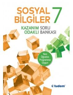 Tudem Yayınları 7.Sınıf Sosyal Bilgiler Soru Bankası