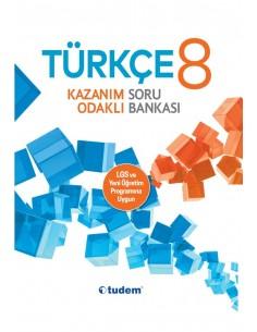 Tudem Yayınları 8.Sınıf Türkçe Kazanım Odaklı Soru Bankası