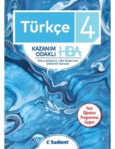 Tudem Yayınları İlkokul 4.Sınıf Türkçe Hepsi 1 Arada