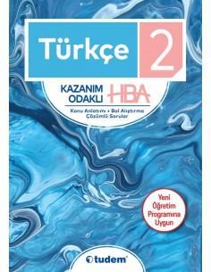 Tudem Yayınları İlkokul 2.Sınıf Türkçe Hepsi 1 Arada