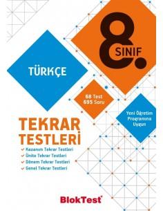 Tudem Yayınları 8.Sınıf Türkçe Tekrar Testleri