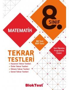 Tudem Yayınları 8.Sınıf Matematik Tekrar Testleri