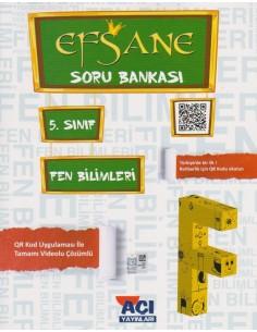Açı Yayınları 5.Sınıf Fen Bilimleri Soru Bankası Kitabı