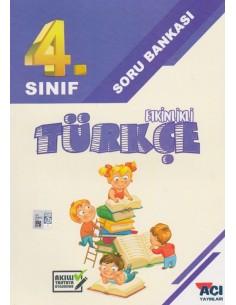 Açı Yayınları 4. Sınıf Türkçe Soru Bankası