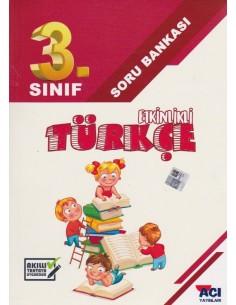 Açı Yayınları 3. Sınıf  Türkçe Soru Bankası