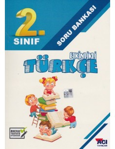 Açı Yayınları 2.Sınıf Türkçe Soru Bankası