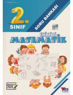 Açı yayınları 2.Sınıf Matematik Soru Bankası