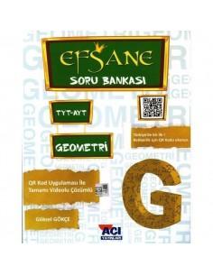 Açı Yayınları TYT YKS Efsane Geometri Soru Bankası