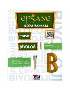 Açı Yayınları 11.Sınıf Biyoloji Efsane Soru Bankası