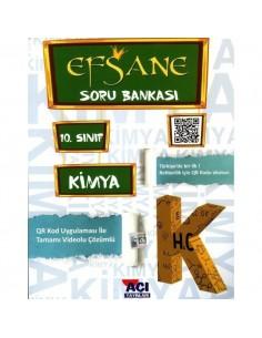Açı Yayınları 10.Sınıf Kimya Efsane Soru Bankası