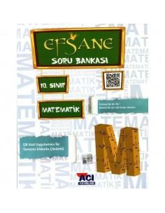 Açı Yayınları 10.Sınıf Matematik Efsane Soru Bankası