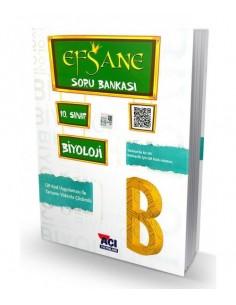 Açı Yayınları 10.Sınıf Biyoloji Efsane Soru Bankası