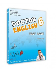 Koray Varol Akademi 6.Sınıf Doktor English Test Book