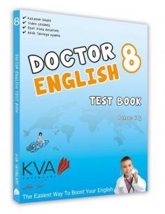 Koray Varol Akademi 8.Sınıf Doktor English Test Book