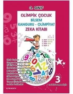 Altın Nokta BİLSEM Olimpik Çocuk 3 Matematik Zeka ve Test Kitabı