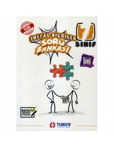 Türev Yayınları 7. Sınıf Sosyal Bilgiler Soru Bankası