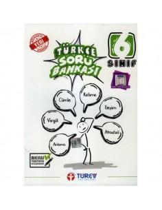 Türev Yayınları 6. Sınıf Türkçe Soru Bankası