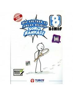 Türev Yayınları 8.Sınıf Din Kültürü ve Ahlak Bilgisi Soru Bankası