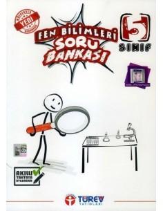 Türev Yayınları 5. Sınıf Fen Bilimleri Soru Bankası
