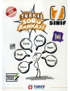 Türev Yayınları 7. Sınıf Türkçe Soru Bankası