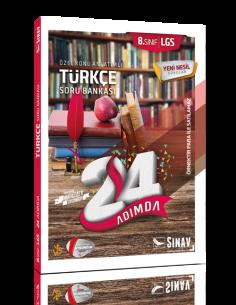 Sınav Yayınları 8.Sınıf Özel Konu Anlatımlı Türkçe Soru Bankası