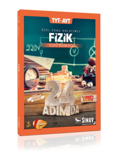Sınav Yayınları TYT AYT Fizik 24 Adımda Özel Konu Anlatımlı Soru Bankası
