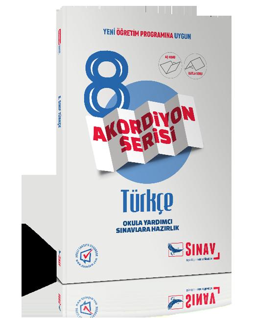 Sınav Yayınları Ortaokul 8.Sınıf Türkçe Konu Anlatımlı