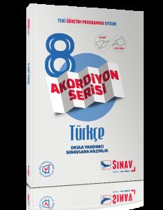 More about Sınav Yayınları 8. Sınıf Türkçe Akordiyon Kitap