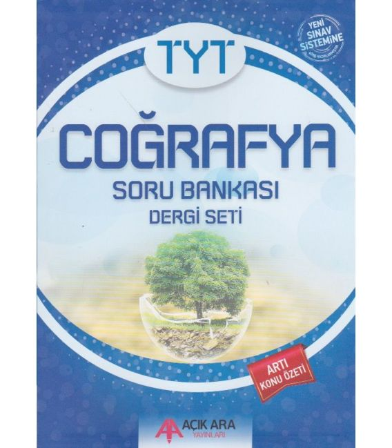 Açık Ara Yayınları TYT Coğrafya Soru Bankası Dergi Seti