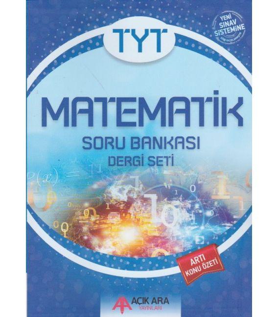 Açık Ara Yayınları TYT Matematik Soru Bankası Dergi Seti
