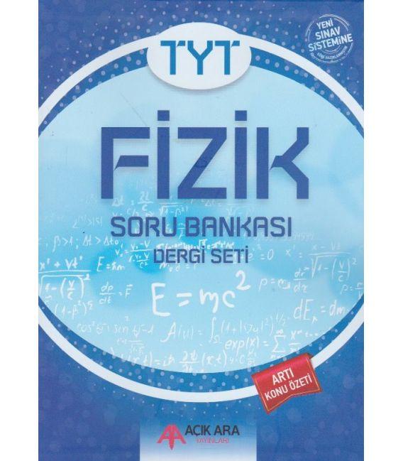 Açık Ara Yayınları TYT Fizik Soru Bankası Dergi Seti