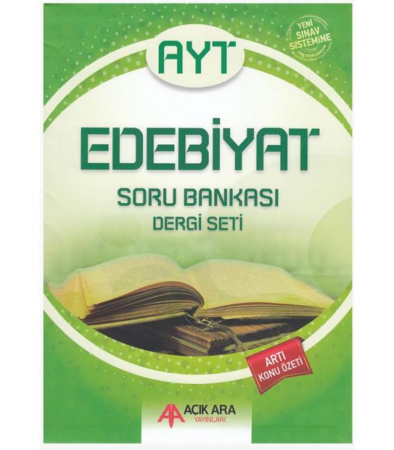Açık Ara Yayınları AYT Edebiyat Soru Bankası Dergi Seti