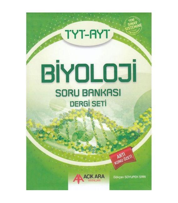 Açık Ara Yayınları TYT- AYT Biyoloji Soru Bankası Dergi Seti