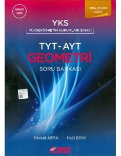 Esen Yayınları TYT - AYT Geometri Soru Bankası Orta ve İleri Düzey (Kırmızı Seri)