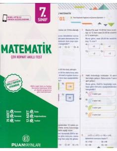 Puan Yayınları 7.Sınıf Matematik Çek Kopart Akıllı Test