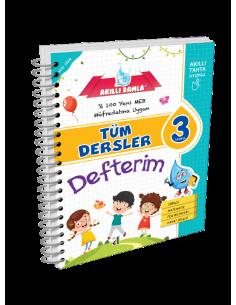 Akıllı Damla Tüm Dersler Defterim 3 .Sınıf