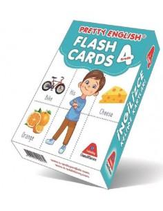 Damla Yayınları Pretty English Flash Cards - 4. Sınıf