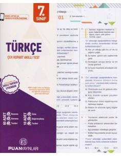 Puan Yayınları 7.Sınıf Türkçe Perforajlı Testler
