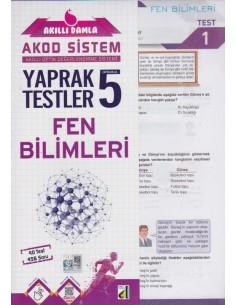 AKILLI DAMLA FEN BİLİMLERİ YAPRAK TESTLER-5. SINIF