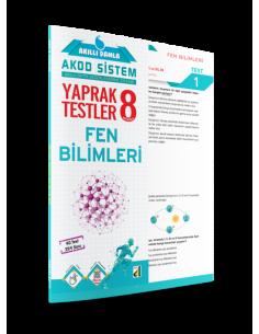 AKILLI DAMLA FEN BİLİMLERİ YAPRAK TESTLER-8. SINIF
