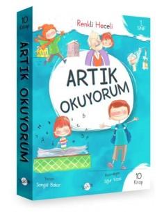 Kukla Yayınları 1. Sınıf Artık Okuyorum Serisi Renkli Heceli 10 Kitap