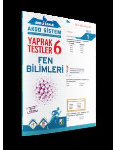 AKILLI DAMLA FEN BİLİMLERİ YAPRAK TESTLER- 6. SINIF