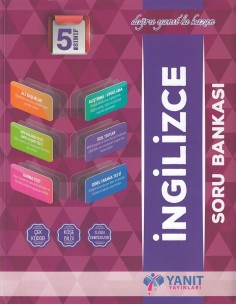 Yanıt Yayınları 5. Sınıf İngilizce Soru Bankası