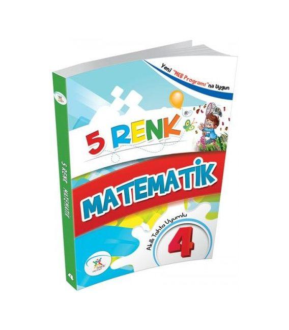 5 Renk Yayınları 4.sınıf Matematik