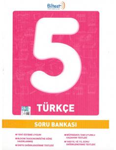 Biltest Yayınları 5.Sınıf Türkçe Soru Bankası
