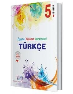 Süreç Yayın Dağıtım 5. Sınıf Türkçe 24 Adet Öğretici Kazanım Denemeleri