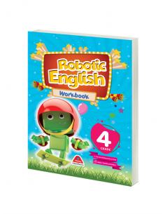 Damla Yayınları Robotic English Workbook - 4 Grade